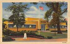 Canton Ohio WHBC Broadcasting Station Antique Postcard K45167
