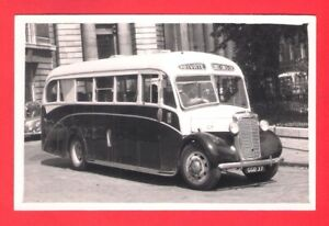 Bus Photo ~ Coast Lines Ltd of Liverpool GGD37 - 1949 Croft Commer Commando Q4