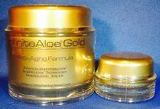 NEW INFINITE ALOE GOLD ANTI-AGING FACE LIFT CREAM  6.7 oz jar + bonus jar