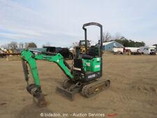 2012 Bobcat 418 Mini Excavator Rubber Tracks Backhoe Extendable Tracks Dozer
