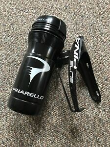 New Pinarello Elite narrow fit bottle cage 66mm with new bottle.