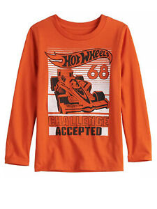 "Hot Wheels ""Challenge Accepted"" Boys Longsleeve"