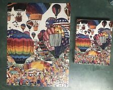 "1989 GAPF ""Hot Air Ballooning"" by John Holladay 550 Piece Puzzle Complete"