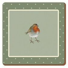 Robin Coasters, Set of 6 (Into The Wild)