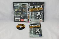 Jeu TONY HAWK'S UNDERGROUND sur Nintendo Game Cube GC (CD remis à neuf) PAL VF