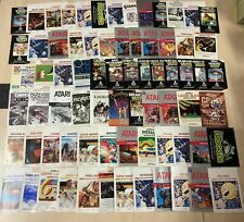 Atari 2600 Manuals and Catalogs Listing #2 - Pick from list