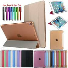 """Smart Leather Flip Stand Case Cover For iPad 2 3 4 Air Pro 10.5"""" 9.7"""" 2017 2018"""