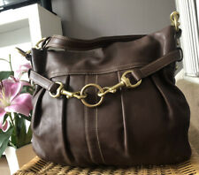 Beautiful Genuine Coach Brown Leather Shoulder Bag , Handbag
