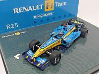 MINICHAMPS 1/43 - Renault F1 Team R25 Fernando Alonso - Art. 403050005