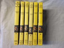 TOP QUALITY Nancy Drew Books 42 45 47 49 50 51 Lot Yellow Matte Finish 1960s-70s