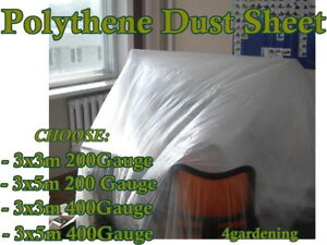 DIY FURNITURE COVERS DUST FLOOR PAINT SHEETS PROTECTION