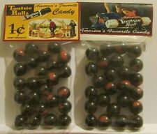 2 Bags Of Tootsie Rolls Candy 1 Cent Promo Marbles