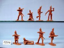 Unpainted Plastic 1:32 1751-1815 Airfix Toy Soldiers