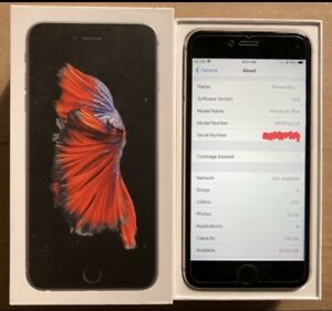 Apple iPhone 6s Plus - 128GB - Space Gray (Unlocked) A1634 w/ add'l accessories