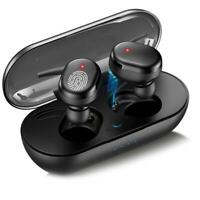 For iOS Android TWS Bluetooth 5.0 Wireless Earphones Stereo Headset Mini In-Ear
