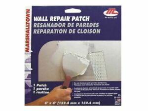 Marshalltown - M28393 Drywall Patches 152.4mm² (Pack 12)