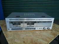 Vintage Sharp Power Amp, Twin Tape Deck,Tuner SC-700X. small fault Our ref: S14