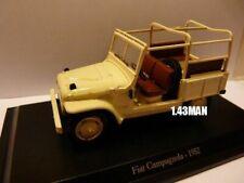IT50M Voiture 1/43 Hachette NOREV FIAT : Campagnola 1952 4 X 4