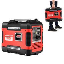 2000W Portable Inverter Gasoline Generator Ultra Quiet 4 Stroke Single Cylinder