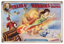 Nostalgic Frank A Robbins Show Circus Sign