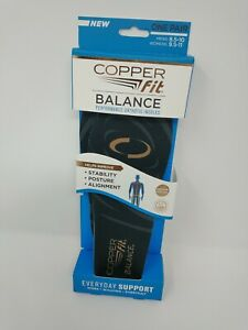 Copper Fit Balance Performance Orthotic Insoles (Mens 8.5 - 10 / Women 9.5 - 11)