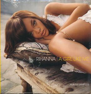 Rihanna A Girl Like Me Album Sampler RARE promo CD '06 (SEALED)