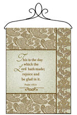 This Is The Day Which The Lord Hath Made Tapestry Bannerette Wall Hanging
