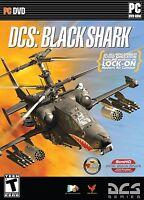DCS BLACKSHARK HELICOPTER SIM PC DVD ROM *NEW*