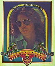 Original Vintage Jim Morrison The Doors Iron On Transfer Lizard King