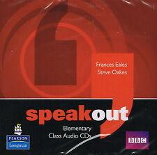 Longman SPEAKOUT Elementary Class Audio CDs | F Eales, S Oakes @BRAND NEW@