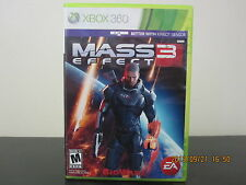 Mass Effect 3  (Xbox 360, 2012) *Tested/Mint