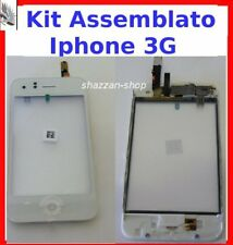KIT BIANCO Touch Screen+Home+speaker Apple Iphone 3G