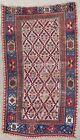Antique rug/carpet European Turkoman Caucasian Tribal Oriental Pre-1900