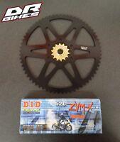 Honda CBR 600 FS1, FS2, Sport F4i 60 Tooth Stunt Bike Sprocket Set