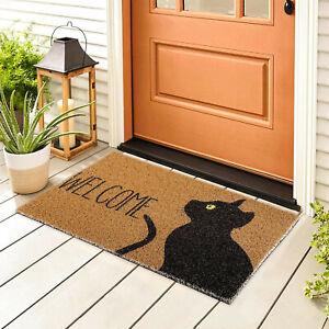 Welcome Doormats Cat Printed Home Carpets Decor Carpet Living Room Carpet