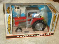 Vintage 1976 Britains 595 Massey Ferguson MF TRACTOR w DRIVER n BOX 1:32 ENGLAND