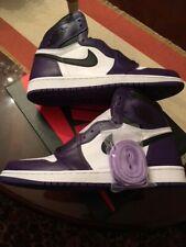*DS* [sz.11 U.S.] Nike Air Jordan 1 Retro High OG Court Purple 555088-500