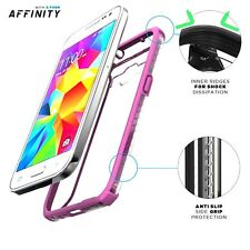 POETIC Affinity Dual material Protective Case for Samsung Galaxy Core Prime Pink