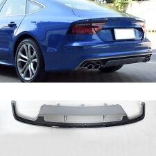 Für Audi A7 4G S7 Diffusor Tuning Heckdiffusor S7 Look Spoiler Facelift 14-16 =4