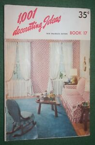 vintage booklet 1,001 decorating Ideas Book 17 New England Edition home decor