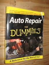 AUTOMOTIVE REPAIR FOR DUMMIES SHOP MANUAL SERVICE FORD DODGE GM TEXTBOOK