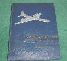 Rare 1940's Carswell Air Force Base Fort Worth Texas Military yearbook