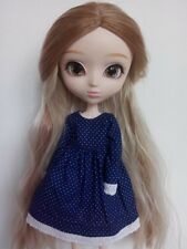 Cute dress with dots and short sleeves for pullip blythe azone momoko obitsu and