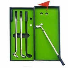 Golf Pen Set, Mini Desktop Golf Ball Pen Gift Set with Putting Hot Sale Us Ship