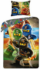 LEGO NINJAGO 03 Kids/Children Single Bed Duvet Cover Set 100% COTTON.