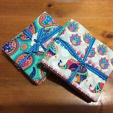 Fantastico Bundle di 6 Craft FQ in 100% cotone, design elefanti, Jade COLORI