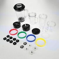 For Magic Bullet Blenders Juicer Mixer Accessories Cup Gasket Seal Lids Blade