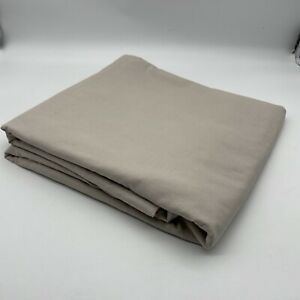 Scenario 100% Cotton Duvet Cover King Size Plain Beige Taupe