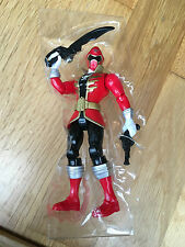 Power Rangers Super Megaforce red pirate ranger action figure + sword & gun