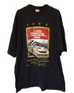 NASCAR Unisex Adult Graphic T-Shirt Motorsport Traditions Labonte Vintage XXL